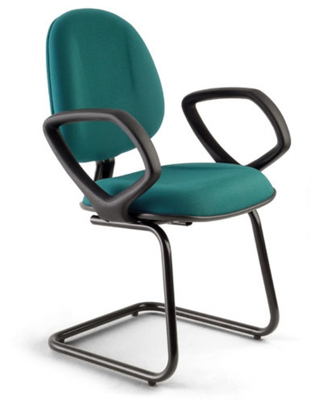 Cadeira de Escritório Interlocutor Fixa Preço Água Bonita - Cadeira Fixa Interlocutor