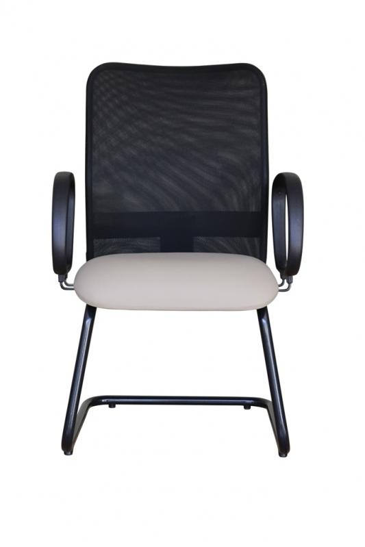 Cadeira de Escritório Interlocutor Preço Cosmópolis - Cadeira Interlocutor Branca