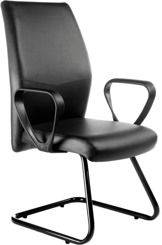 Cadeira Fixa Tipo Interlocutor Vila Regina - Cadeira Escritório Interlocutor