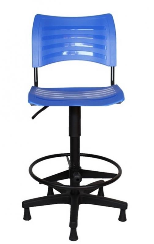 Cadeira Giratória Alta para Balcão Valores Cabreúva - Cadeira Secretária Giratória