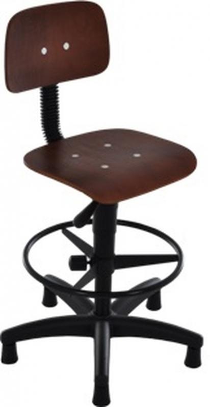 Cadeira Giratória em Madeira Industrial Valores Aeroporto - Cadeira Secretária Giratória