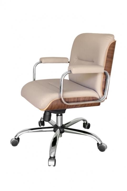 Cadeira Giratória em Madeira Valores Chora Menino - Cadeira Secretária Giratória