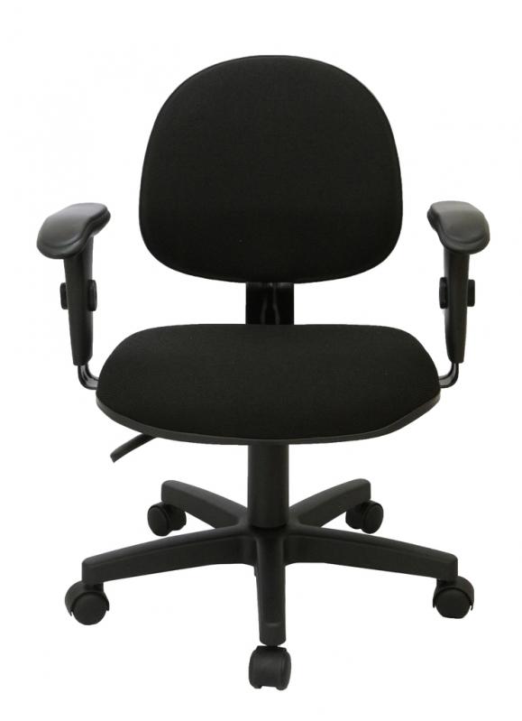 Cadeira Giratória Estofada Lauzane - Cadeira Secretária Giratória