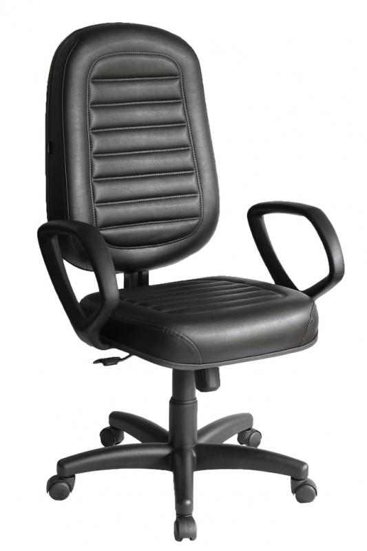 Cadeira Giratória Presidente São Paulo - Cadeira Presidente 150kg