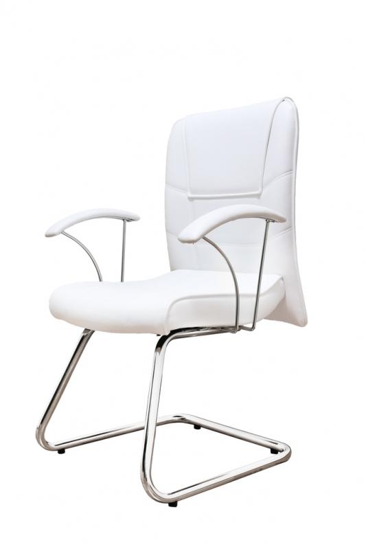 Cadeira Interlocutor Branca Preço Jardim Coimbra - Cadeira Fixa Interlocutor