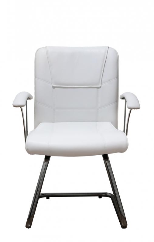 Cadeira Interlocutor Branca Lapa - Cadeira Interlocutor Fixa