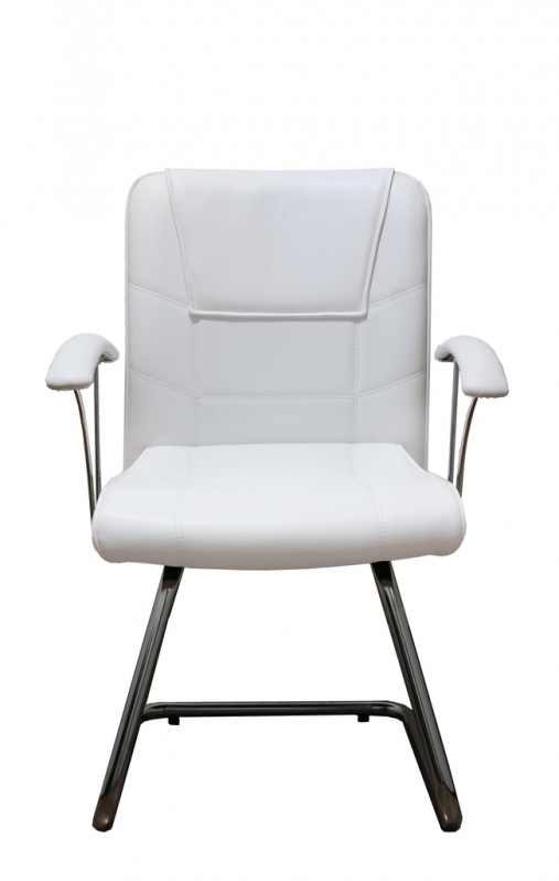 Cadeira Interlocutor Branca ARUJÁ - Cadeira Interlocutor