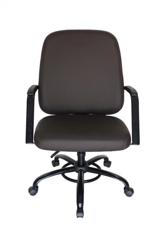 Cadeira Presidente 150kg Arcadas - Cadeira Office Presidente