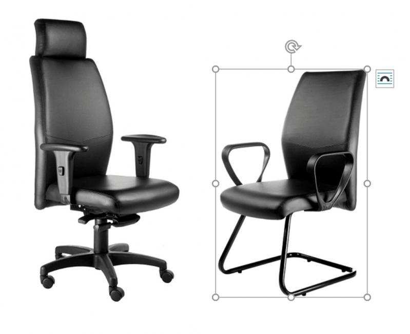 Cadeira Presidente e Interlocutor GRANJA VIANA - Cadeira Interlocutor
