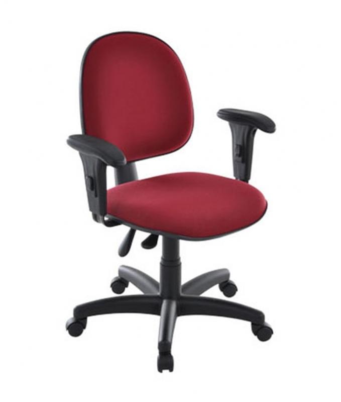 Cadeira Secretária Giratória com Braços Valores Santa Teresinha de Piracicaba - Cadeira Secretária Giratória