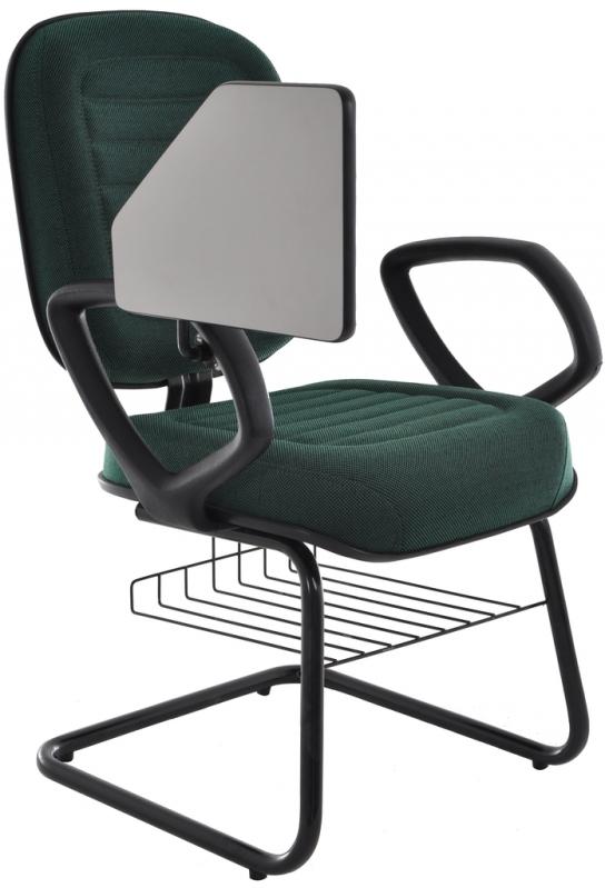 Cadeira Universitária com Prancheta Dobrável Pari - Cadeira Universitária em Polipropileno