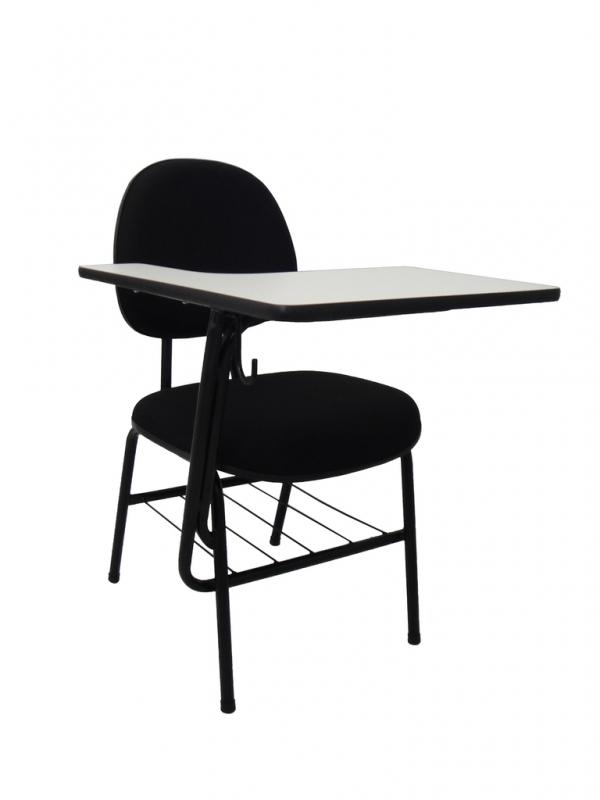Cadeira Universitária com Prancheta Frontal Preço Cosmópolis - Cadeira Universitária em Polipropileno