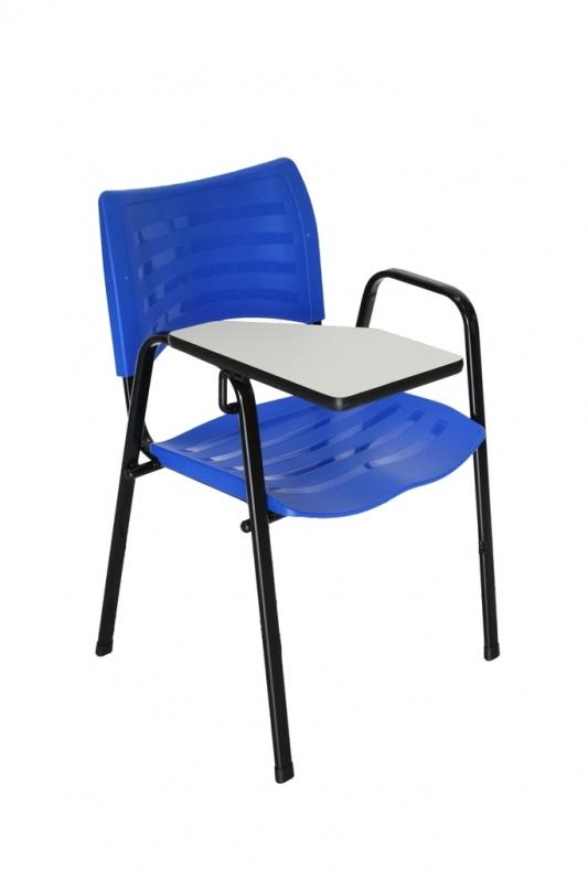 Cadeira Universitária Iso Vila Roque - Cadeira Universitária Estofada com Prancheta