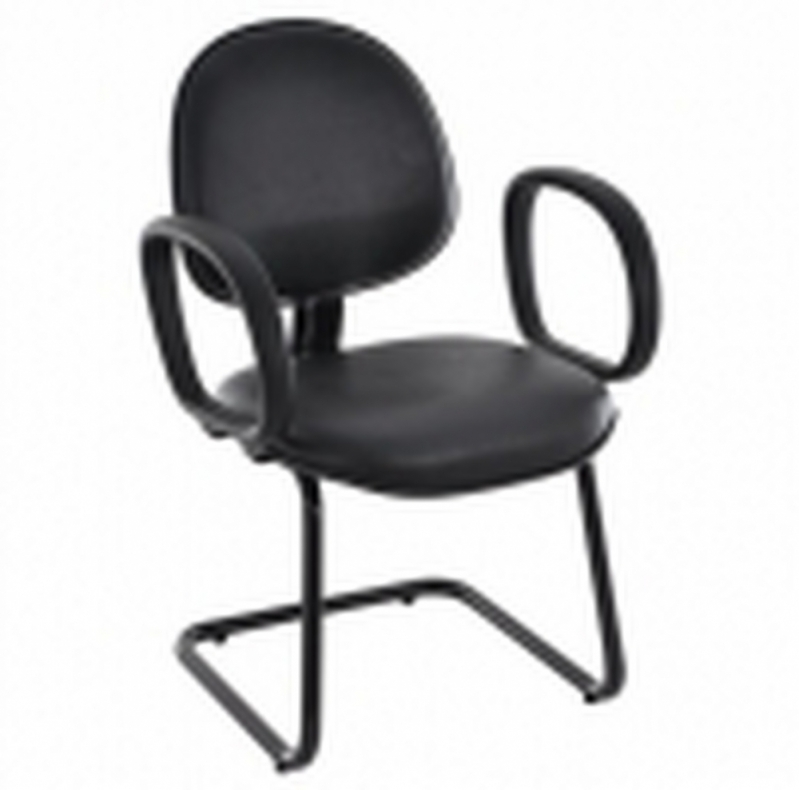 Cadeiras de Escritório Interlocutor Fixa Goiânia - Cadeira de Escritório Interlocutor