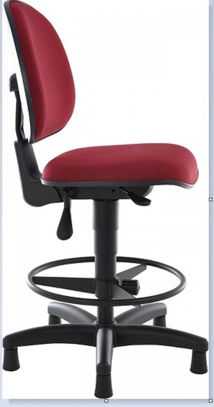 Cadeiras Giratória Alta para Balcão Vila Sampaio - Cadeira Secretária Giratória