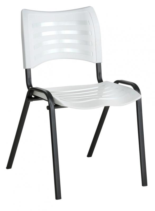 Cadeiras Interlocutor Branca Parque São Lucas - Cadeira Fixa Interlocutor