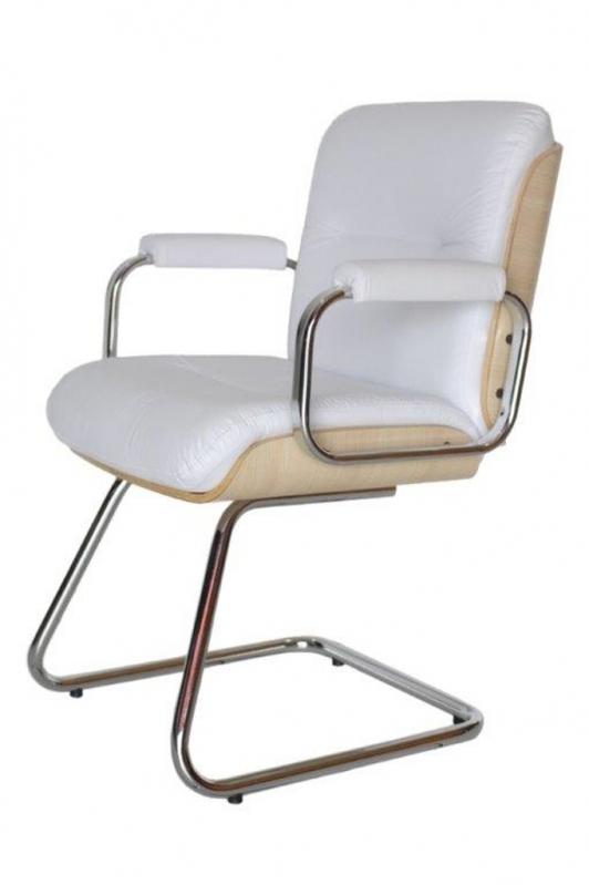 Cadeiras Interlocutor Cromada Santa Efigênia - Cadeira Interlocutor