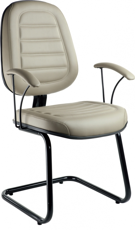 Cadeiras Interlocutor Fixa Lausane - Cadeira Interlocutor Branca