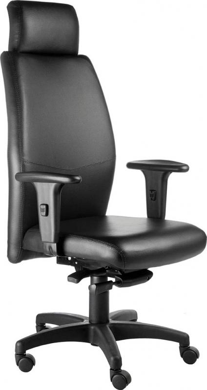 Cadeiras Presidente Preta Cidade Patriarca - Cadeira Executiva Presidente