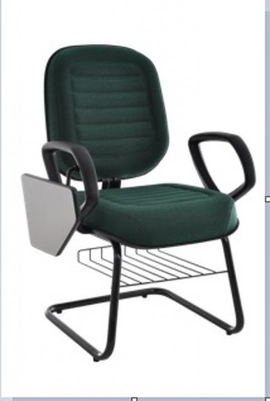 Cadeiras Universitária com Prancheta Escamoteável Osasco - Cadeira Universitária Estofada com Prancheta