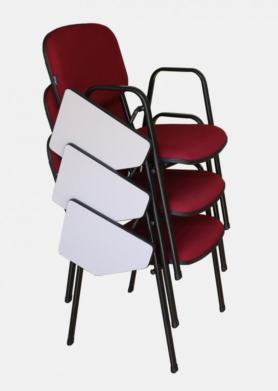 Fornecedor de Cadeira Universitária Empilhável Araraquara - Cadeira Universitária Azul