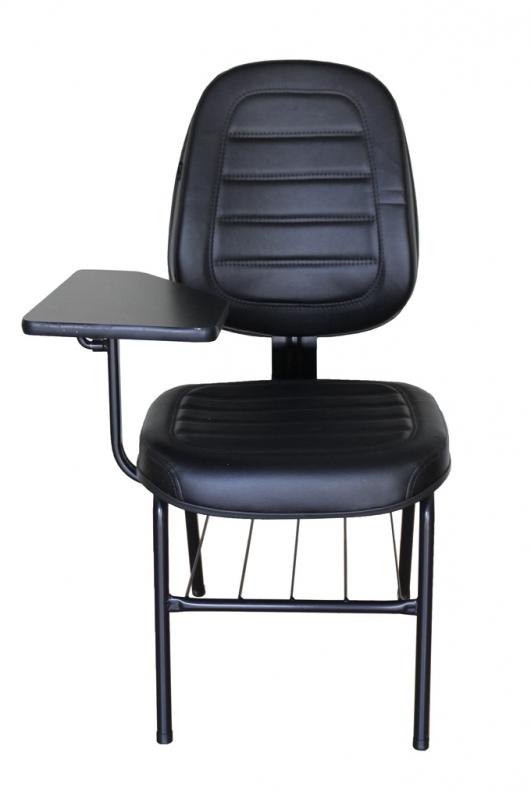 Fornecedor de Cadeira Universitária Estofada com Prancheta Santa Isabel - Cadeira Universitária Estofada com Prancheta
