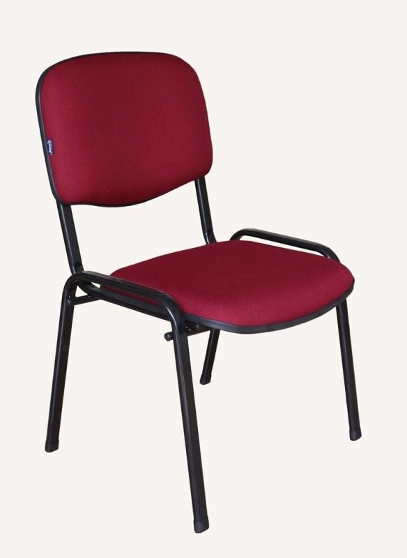 Indústria de Cadeira de Escritório Interlocutor Fixa Av Casa Verde - Cadeira Interlocutor Branca