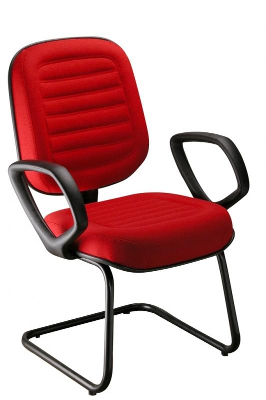 Indústria de Cadeira Escritório Interlocutor Espírito Santo - Cadeira Interlocutor Fixa