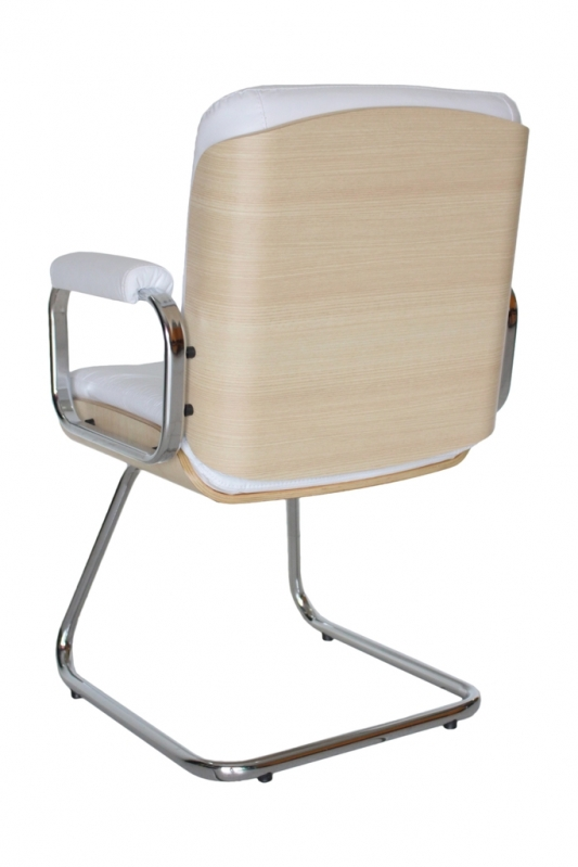 Indústria de Cadeira Interlocutor Branca Juquitiba - Cadeira de Escritório Interlocutor