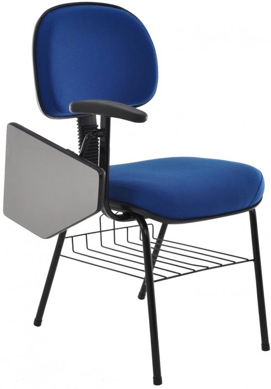 Loja de Cadeira Universitária com Prancheta Dobrável Recife - Cadeira Universitária Estofada com Prancheta