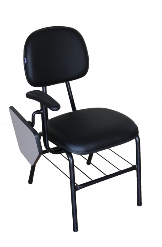 Loja de Cadeira Universitária com Prancheta Escamoteável Instituto da Previdência - Cadeira Universitária em Polipropileno