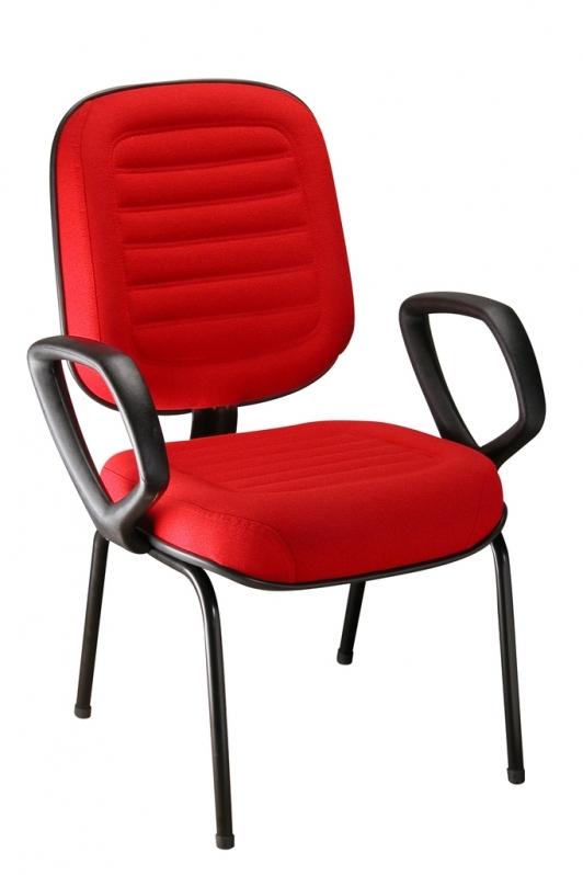 Preço de Cadeira Escritório Interlocutor Perus - Cadeira Interlocutor Fixa
