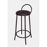 cadeira alta com encosto para cozinha preço Vila Esperança