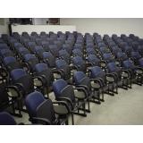 cadeira auditório com prancheta valores Cidade Patriarca