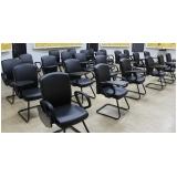 cadeira auditório com prancheta Jardim Leonor