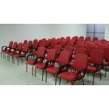 cadeira de auditório com braço Água Bonita