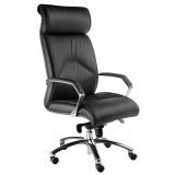 cadeira de couro para escritório Vila Carmosina