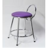 cadeira de cozinha cromada Jardim Arizona