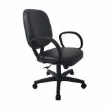 cadeira de escritório giratória estofada valores Jardim Três Marias
