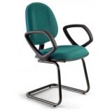cadeira de escritório interlocutor fixa preço Franco da Rocha