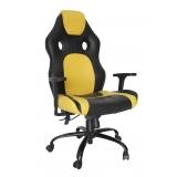 cadeira de escritório presidente reclinável gamer Engenheiro Goulart