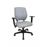 cadeira de escritório secretária giratória valores Mato Grosso do Sul