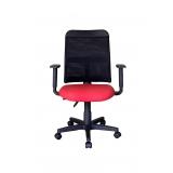 cadeira de escritório secretária giratória Franco da Rocha