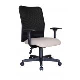 cadeira de escritório tela Vila Campanela