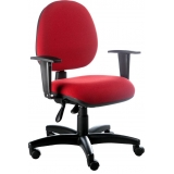 cadeira de escritório vermelha preço Campo Belo