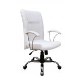 cadeira de rodinha branca Sacomã
