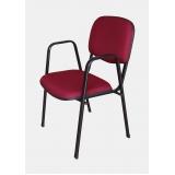 cadeira empilhável com braço Vila Caborne