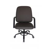 cadeira escritório até 150kg Franco da Rocha