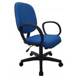 cadeira estofada com braço Vila Gomes Cardim