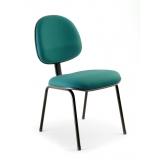 cadeira executiva fixa confortável rua zilda